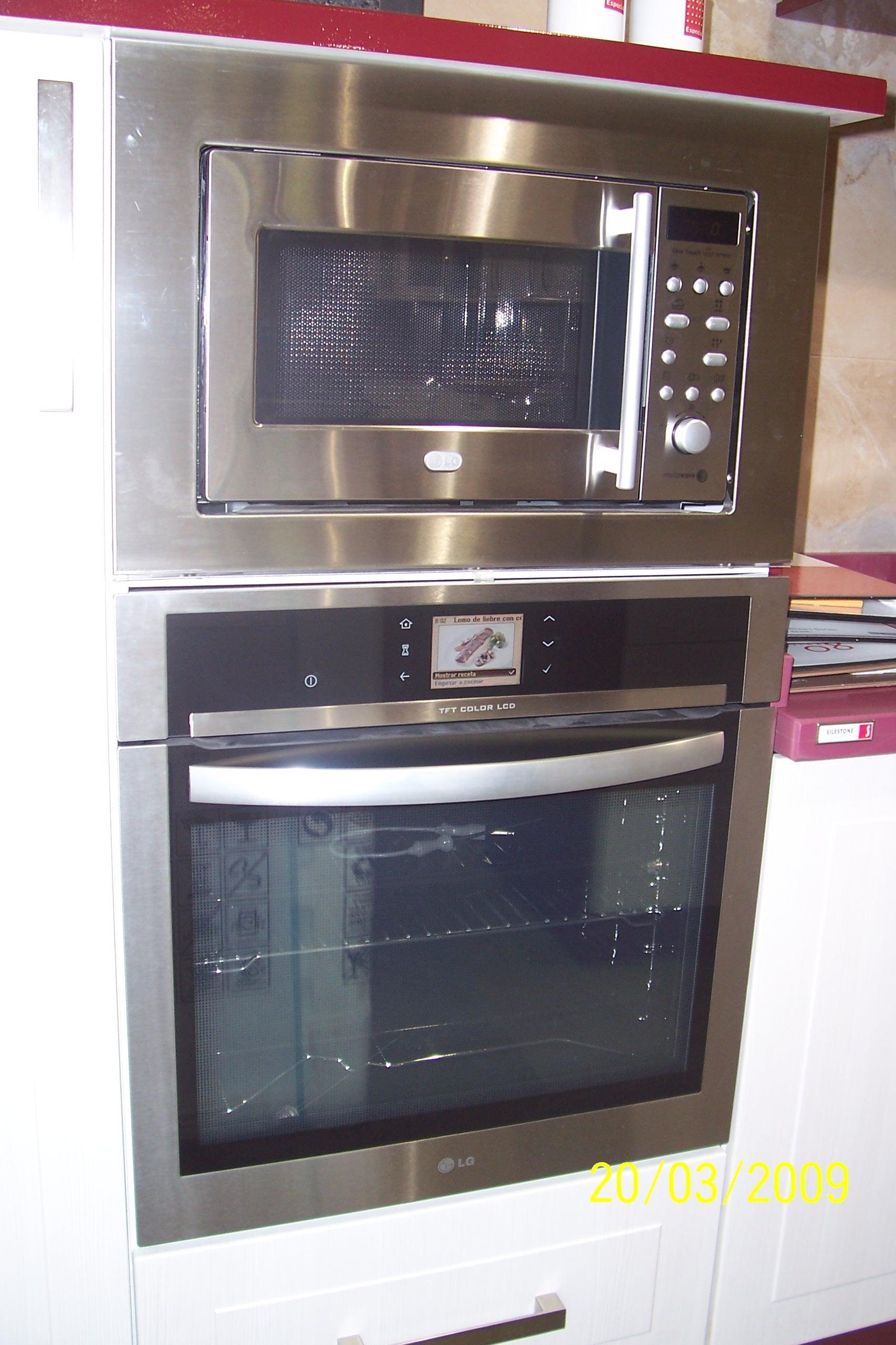 Muebles De Cocina En Pe Aranda Electrodom Sticos Armarios  # Muebles Microondas