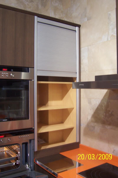 Muebles de cocina en pe aranda electrodom sticos armarios - Mueble persiana cocina ...